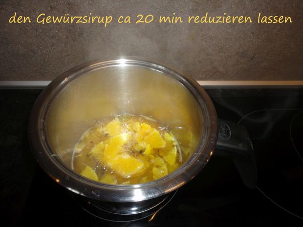 Tapioka Weisswein Orangen Pudding - Rezept - Bild Nr. 3449