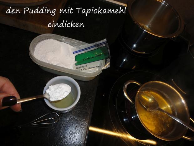 Tapioka Weisswein Orangen Pudding - Rezept - Bild Nr. 3451