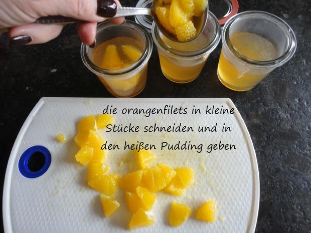 Tapioka Weisswein Orangen Pudding - Rezept - Bild Nr. 3453