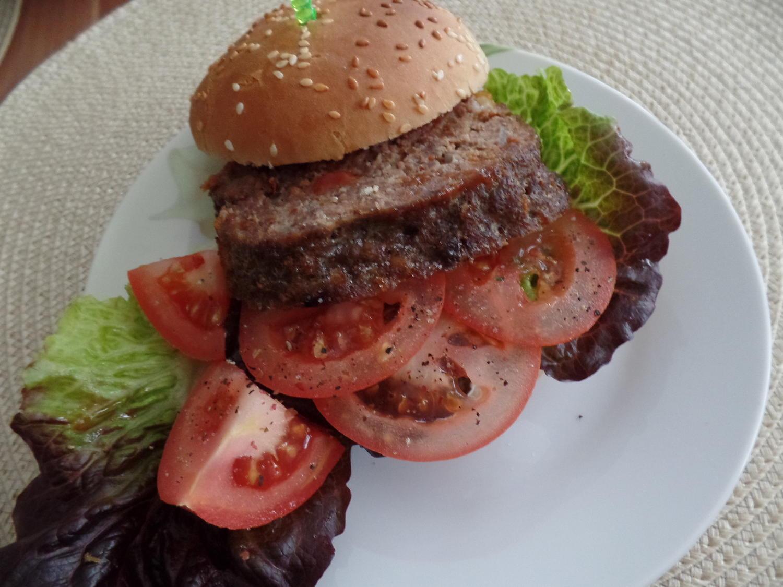 hackbraten burger rezept mit bild. Black Bedroom Furniture Sets. Home Design Ideas