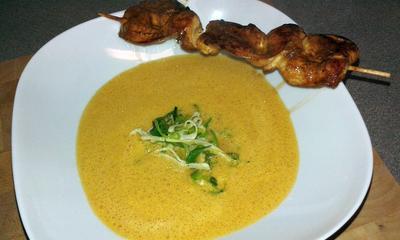 Kokos-Chili Suppe - Rezept - Bild Nr. 3458