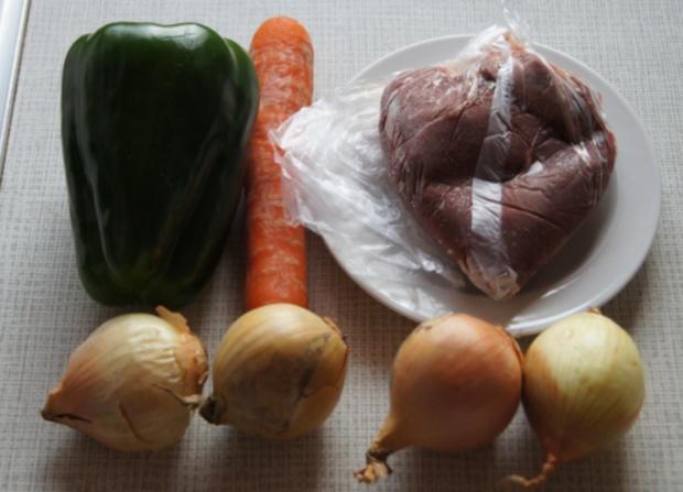 Wok-Kalbsleber mit Gemüse und Reis - Rezept - Bild Nr. 3454