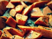 Beilage: Zimtige Süßkartoffel-Ecken im Ofen gebacken - Rezept - Bild Nr. 3558