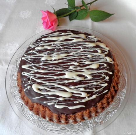 Kleine Schokoladen - Orangen - Torte - Rezept - Bild Nr. 3483