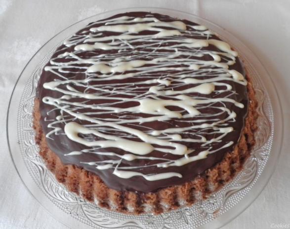Kleine Schokoladen - Orangen - Torte - Rezept - Bild Nr. 3498