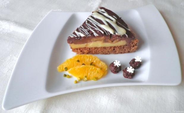 Kleine Schokoladen - Orangen - Torte - Rezept - Bild Nr. 3499