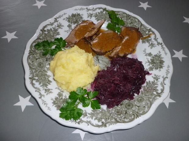 Rehbraten  - Rezept - Bild Nr. 3524