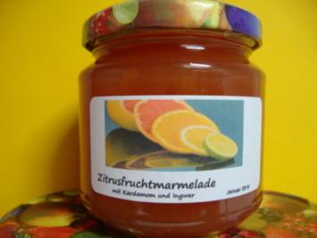 Zitrusmarmelade aus Orange, Pink Grapefruit und Sweety - Rezept - Bild Nr. 3524