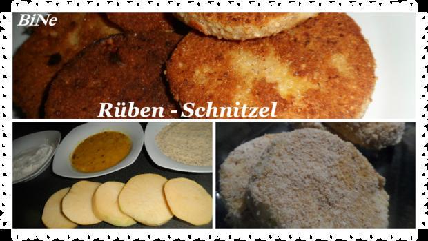 BiNe` S RÜBEN - SCHNITZEL - Rezept - Bild Nr. 3593