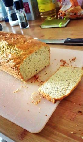 Bohnenbrot (Brot aus Bohnen) - Rezept - Bild Nr. 3560
