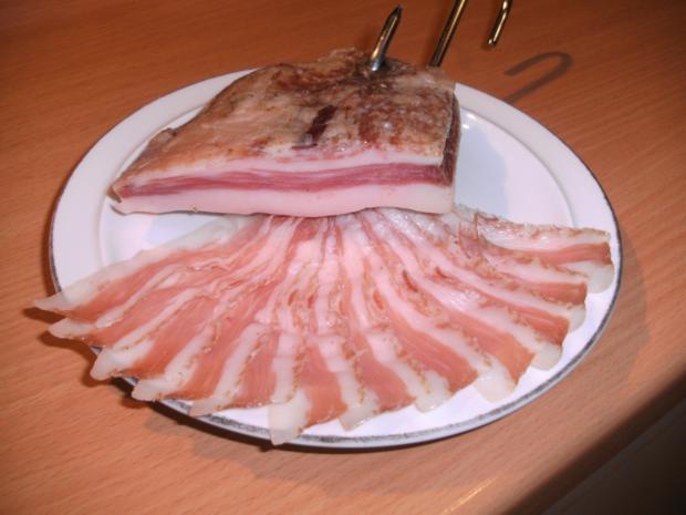 Fleisch: Guanciale ( ital. Spezialität ) - Rezept - Bild Nr. 4254