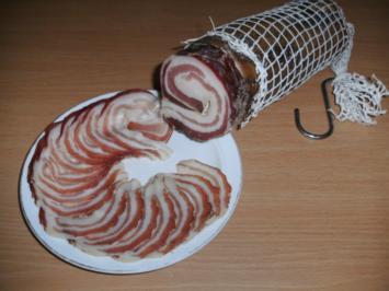 Fleisch: Pancetta - Rezept - Bild Nr. 4256