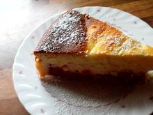 käsekuchen mit sauerkirschen - Rezept - Bild Nr. 3701