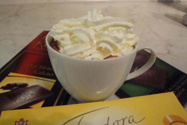 Spanische flüssige heisse Trinkschokolade - Rezept - Bild Nr. 3709