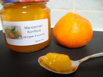 Mandarinen Gelee, mit Ingwer und Kurkuma - Rezept - Bild Nr. 4876
