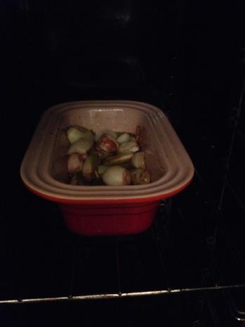 Spinat-Ziegenkäsetarte mit  Schalottenkompott - Rezept - Bild Nr. 3718
