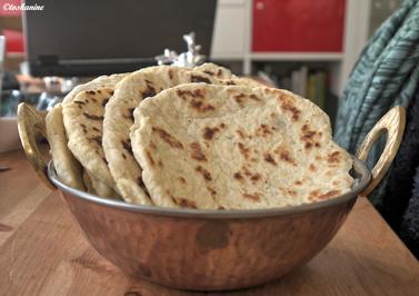 Herzhafte Naan-Brote - Rezept - Bild Nr. 3708
