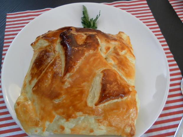 Camembert im Blätterteig - Rezept - Bild Nr. 3706