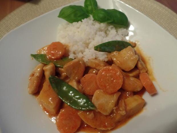 Hähnchen-Erdnuss-Curry - Rezept - Bild Nr. 3709