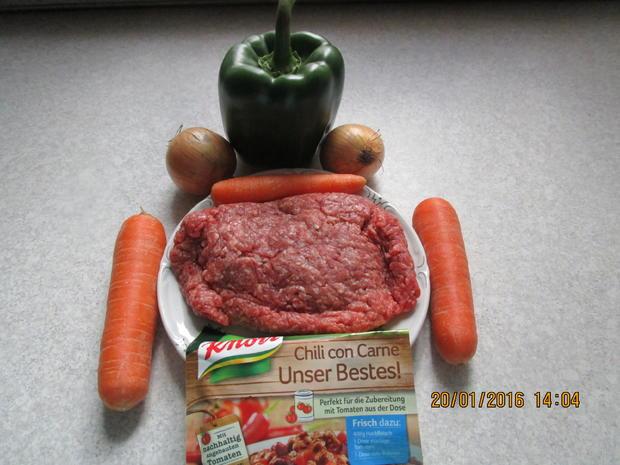 chili con carne mit baked beans - Rezept - Bild Nr. 3777