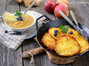 Kartoffelpuffer mit Flohsamenschalen - Rezept - Bild Nr. 3775