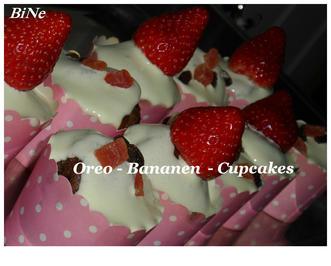 BiNe` S OREO - BANANEN CUPCAKES - Rezept - Bild Nr. 3814
