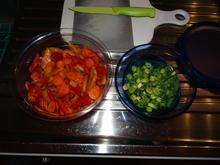 Hähnchenbrustfilets auf Gemüse - Rezept - Bild Nr. 4094