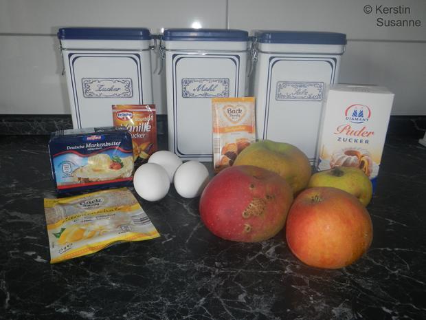 Apfelkuchen sehr fein - Rezept - Bild Nr. 3853