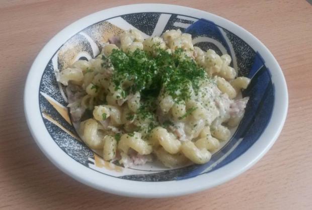 Pasta a la Carbonara - Rezept - Bild Nr. 3872