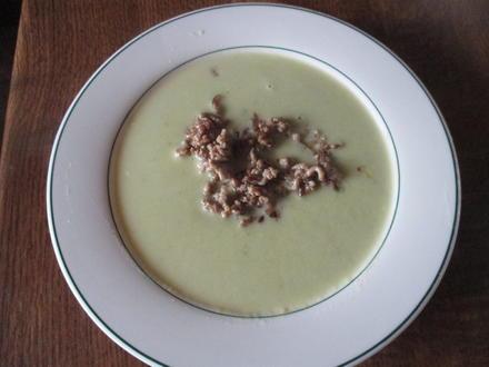 Kartoffel - Lauch - Suppe mit Hack - Rezept - Bild Nr. 3872