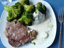 Entrecote mit Broccoli - Rezept - Bild Nr. 3872