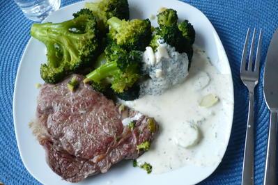 Rezept: Entrecote mit Broccoli