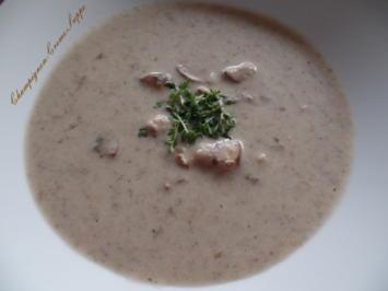 Champignon-Creme -Suppe - Rezept - Bild Nr. 3887