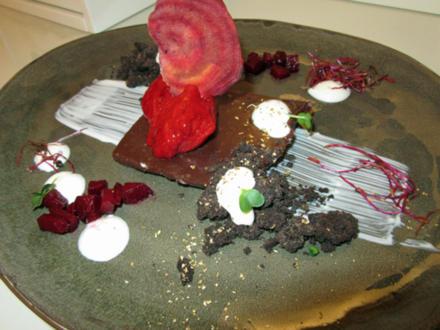 Schokoladenganache an Rote Bete-Variation - Rezept - Bild Nr. 3891