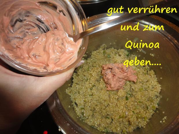 Quinoa Tomaten Törtchen - Rezept - Bild Nr. 3904