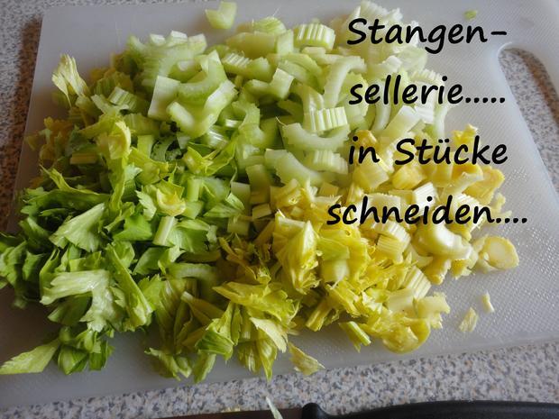 Stangensellerie Gemüse - Rezept - Bild Nr. 3913