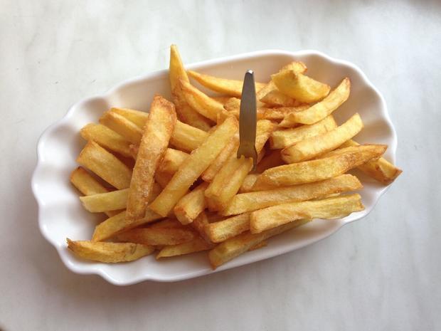 Original belgische Fritten (Belgische Pommes frites) - Rezept - Bild Nr. 3951