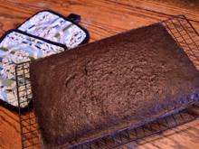 Magic Cake: Schoko-Zauberkuchen mit drei Schichten aus einem Teig - Rezept - Bild Nr. 4022