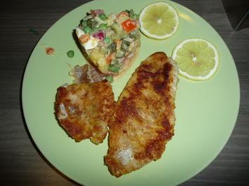 Rotbarsch und Kartoffelsalat einer Freundin. - Rezept - Bild Nr. 4036