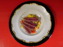 Thunfischsteak auf Mango-Chili Salat - Rezept - Bild Nr. 4030