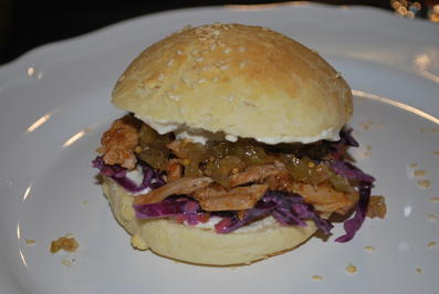 Rezept: Annis Pulled Pork-Burger