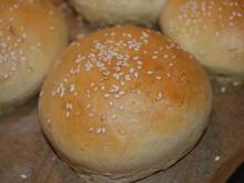 Hamburger Buns - Rezept - Bild Nr. 4053