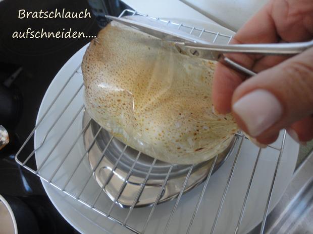 Vermouth Hühnchen im Bratschlauch gegart - Rezept - Bild Nr. 4060