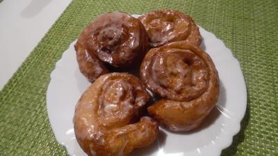 Rezept: Zimtschnecken amerikanisch (Cinnamon Swirls)