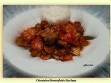Chinesisches Schweinefleisch Süss-Sauer - Rezept - Bild Nr. 4181