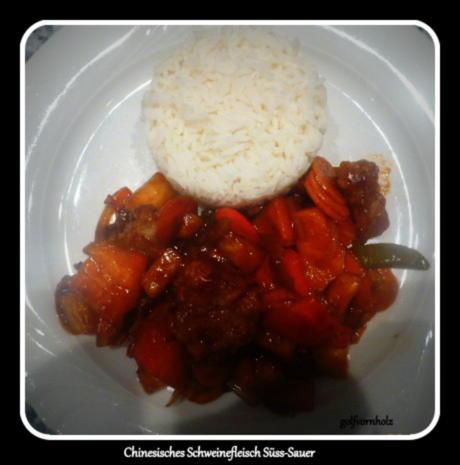 Chinesisches Schweinefleisch Süss-Sauer - Rezept - Bild Nr. 4187