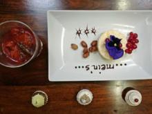 Zimtparfait mit gebrannten Mandeln und warmem Pflaumenkompott - Rezept - Bild Nr. 4196