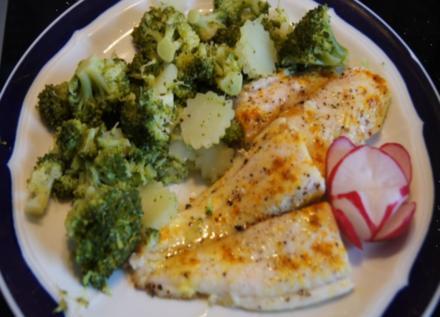 Fischfilet mit Brokkoli - Rezept - Bild Nr. 4226