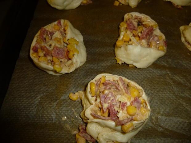 Pizza-Schnecken - Rezept - Bild Nr. 4299