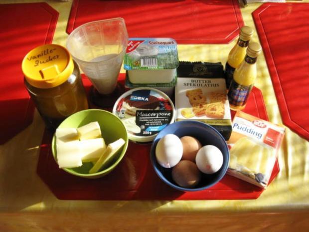 Käsekuchen mit Eierlikör und Spekulatius - Rezept - Bild Nr. 4298